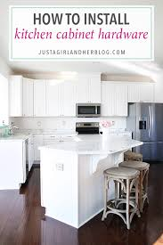 how to install kitchen cabinet hardware png