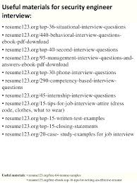 Network Security Engineer Sample Resume Interesting Network Security Engineer Resume Security Resume Samples Security