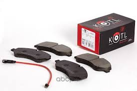 KOTL 1967KT <b>Комплект передних тормозных</b> колодок