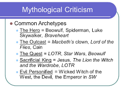 "introduction to literary criticism definition and use ""literary  21 mythological"