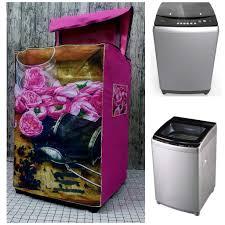 Áo Trùm Máy Giặt Cửa Trên VÀ Trước Loại Dày (mẫu hoa hồng cực xịn) chính  hãng