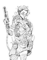 Steampunk Janine Inks 2.0 by *Esbe77 on deviantART | strip ...