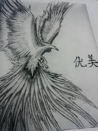 Drawings Of Phoenix Realistic Phoenix Bird Drawings