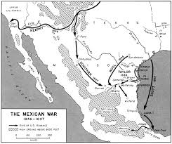 mexican american war battles timeline campaign city mexican american war battle map timeline jpg