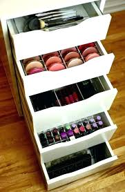 decoration makeup storage drawers acrylic organizer fit drawer set insert divider sonny cosmetics lipstick box
