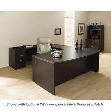 office desk walnut. u shape office desk suite 72 walnut