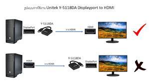 Cáp Chuyển Đổi DisplayPort Sang HDMI UNITEK Y5118DA dài 20cm - P581077 | Sàn  thương mại điện tử của khách hàng Viettelpost