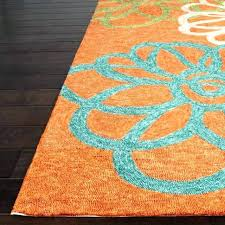 turquoise and orange area rug blue green modern teal an