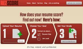 ReZScore Free Resume Grader Online Magnificent Resume Grader