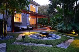 zen backyard in florida landscaping