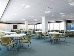 office cafeteria. Download Office Cafeteria Stock Illustration. Illustration Of Furniture - 35878718