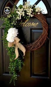 initial wreaths for front door44 best Wreaths images on Pinterest  DIY Front door wreaths and