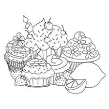 This template carries a yellow colored cupcake on a yellow background that look clean and awesome. Top 25 Free Printable Cupcake Coloring Pages Online