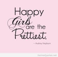 Quotes About Girls Beauteous Happy Girls Quotes