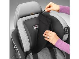 chicco myfit zip air isofix booster car