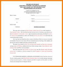 Divorce Notice Format Fascinating 44 Divorce Letter Templates Vereador Jamerson