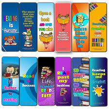 Fantastic Reading Bookmarks For Kids 60 Pack