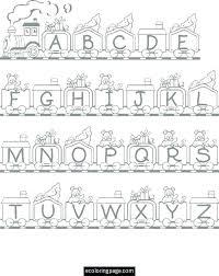 Coloring Alphabet Pages Alphabet Coloring Pages 3 Alphabet Coloring