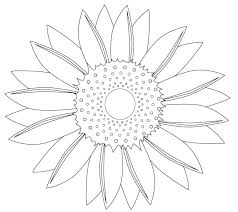 Small Picture Sunflower Coloring Page Coloring Pages Gallery Sunflower Coloring