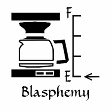 empty coffee pot clipart. Wonderful Pot Empty Coffee Pot Blasphemy In The Morning Wooden Coaster To Clipart P