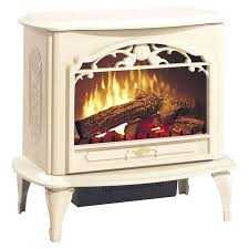 vernon electric fireplace stove electric stove in cream reminiscent of old world craftsmanship this elegant cream