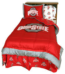 ohio state buckeyes reversible comforter set twin contemporary comforters and comforter sets by college covers