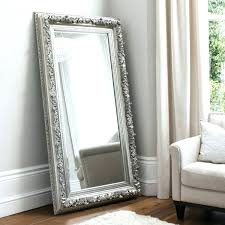 big tall mirrors famous standing mirror floor image w free34 tall