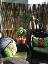 condo balcony furniture. easy makeover using bamboo fencing for privacy spray paint on chairs and little sewing condo balcony furniture