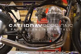 motorcycle resto the engine install bike exif