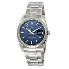 mens rolex oyster watch perpetual datejust copper mens rolex oyster watch perpetual date blue