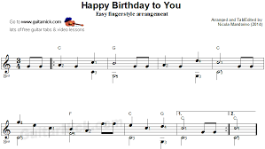 Happy birthday is a great song to learn, and one that everyone can put to use. Happy Birthday Fingerstyle Guitar Lesson Guitarnick Com