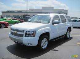 2011 White Diamond Tricoat Chevrolet Tahoe LTZ #36347462 ...