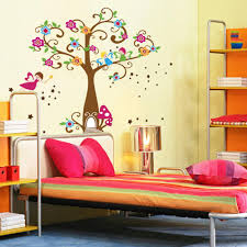 Manchester United Wallpaper For Bedroom Little Elf Magic Tree House Wall Decal Stickers Decor For Kids