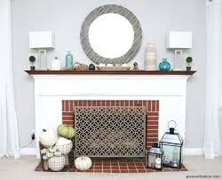 coastal fireplace mantels a fall coastal mantel when you have any time to decorate love beach