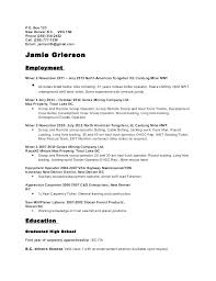 Form Of A Resume Short Resume Example Short Form Resume Short Simple