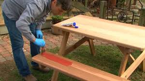 how to protect outdoor furniture. Easily Stain Your Outdoor Furniture | Thompson\u0027s WaterSeal Easy - YouTube How To Protect R