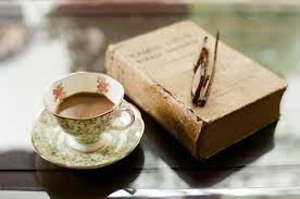 Image result for book coffee