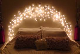 Delightful Best String Lights Bedroom Ideas Collection And Hanging For Images  Inspirations Fairy Trends Including Home Diy Icicle Light Faux Headboard  Also Headboards