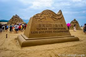 fulong taiwan sand sculpture festival a cruising couple spectacular sand sculptures a photo essay from fulong beach