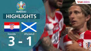 คลิปไฮไลท์ ยูโร : โครเอเชีย 3-1 สกอตแลนด์