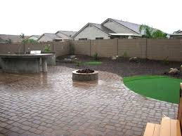 Desert Backyard Designs Inspiration Small Backyard Ideas Arizona Backyard Landscape Design After