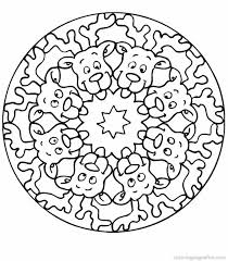 Small Picture Free Mandalas For Kids Mandala Coloring Sheets Kidsjpg Coloring
