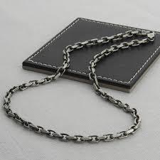 men s sterling silver anchor chain bracelet