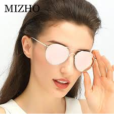 <b>MIZHO</b> Real Visual Polarized Women Sunglasses Aviation Flash ...
