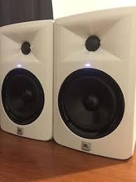 jbl 305 white. jbl-lsr305-white-professional-studio-monitors-pair-speakers- jbl 305 white s