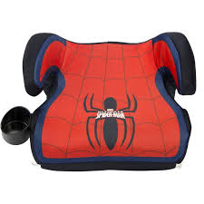 kids backless car seat booster safety chair spiderman travel toddler child new