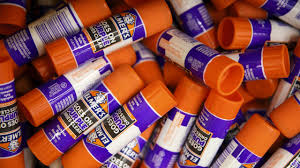 elmer s products inc school glue sticks are displayed for at a s inc
