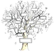 Family Tree Stencil The Roots Of A Zont Pw
