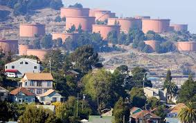 twitter doubles silicon valley office. Richmond, California, Homes Seen In Front Of Chevron Storage Tanks. (Reuters / Kimberly White) Twitter Doubles Silicon Valley Office