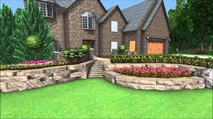 Small Picture Landscape Design 3D Walkthrough Front Yard Landscaping Canyon